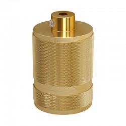 Ντουί Αλουμινίου Βιομηχανικό Ε27 Χρυσό - Creative Cables