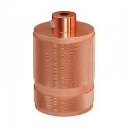 Aluminum Industrial Lampholder E27 Copper - Creative Cables