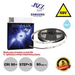 Led Strip JAZZ 48V 6 Watt IP67 SAMSUNG Chip 5m - Maximum operating length 50m - CUBALUX