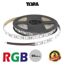 Led Strip 14.4W 24V IP20 RGB TΩRA 5 m CUBALUX