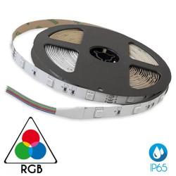 Ταινία Led Αυτοκόλλητη 14.4W 24V IP65 RGB TΩRA 5 μέτρα CUBALUX