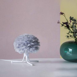 Feather lamp with EOS Micro D22 Light Grey by UMAGE