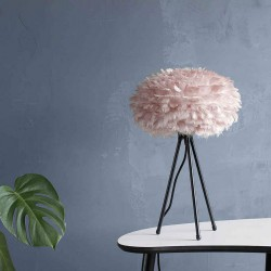 Feather lamp with EOS Mini D35 Pink by UMAGE