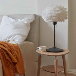 Feather lamp with EOS Mini D35 White by UMAGE