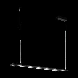 LED Κρεμαστό Φωτιστικό Αλουμινίου Μαύρο 27W 3000K AMONTILLADO Eglo