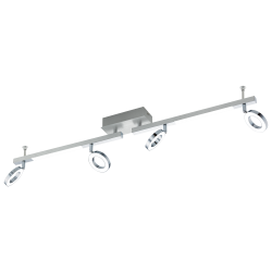 LED Aluminum Spot With Two Light Sources 4x3.2W - 2x3.3W CARDILLIO 1 Eglo
