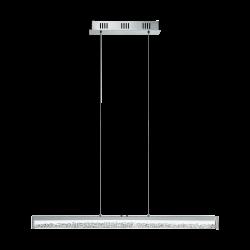 LED Κρεμαστό Φωτιστικό Αλουμινίου Με Κρύσταλλα 100cm 32W 2500lm DIMMABLE CARDITO 1 Eglo