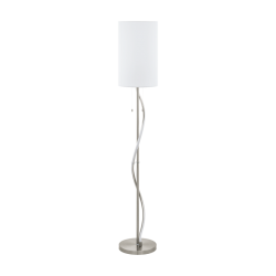 Floor Lamp Metalic With Fabric Hat 1x60W E27 + LED 11.8W ESPARTAL Eglo