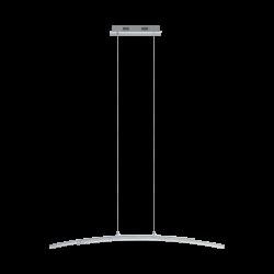 LED Pendant Light Chrome-Transparent 96cm 2x 10.8W 3000K PERTINI Eglo