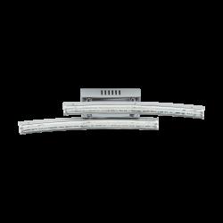 LED Wall Lamp Chrome-Transparent  2x 3W 3000K PERTINI Eglo
