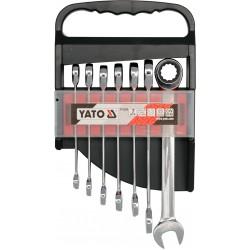 Σετ Γερμανοπολύγωνα Καστάνιας 7τμχ No 10-19 YT-0208 - Yato Tools