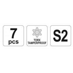 Σετ Άλλεν Torx 7τμχ  Long ή 9τμχ Extra Long - Yato Tools