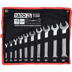 Set of German Wrenches 10pcs YT-0380 - Yato Tools