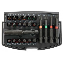 """Μύτες Σετ 1/4"""" 23 Τμχ IMPACT YT-04621 - Yato Tools"""