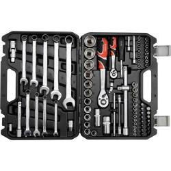 "Professional Tool Set 82pcs 1/4"" & 1/2"" YT-12685 - Yato Tools"