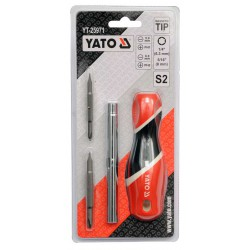 6-IN-1 INTERCHANGEABLE SCREWDRIVER SET YT-25971 - Yato Tools
