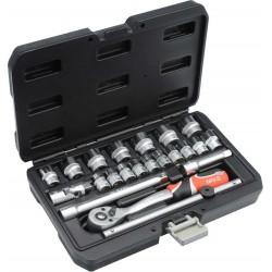 "Professional Tool Set 22pcs 3/8 ""YT-38561 - Yato Tools"