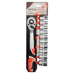 "Professional Tool Set 12pcs 1/2"" YT-38821 - Yato Tools"