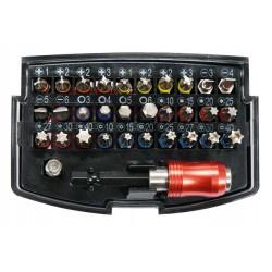 """Μύτες Σετ 1/4"""" 32Τμχ YT-04622 - Yato Tools"""