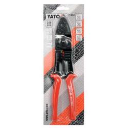 RATCHET CRIMPING PLIERS 0.5-5.5 MM2 - Yato Tools