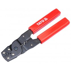 RATCHET CRIMPING PLIERS 0.08-6 MM2 YT-2256 - Yato Tools