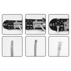 TELEPHONE / DATA CRIMP TOOL YT-22422 - Yato Tools