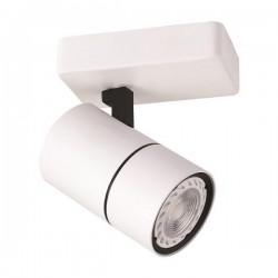 Σποτ Μπάρα Μονή GU10 Λευκή / Μαύρη - Eurolamp