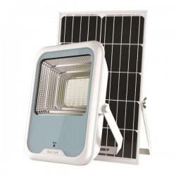 Προβολέας LED SMD Ηλιακός Με Ανιχνευτή Κίνησης 30W IP66 DC5V 6500K Λευκός PLUS - Eurolamp