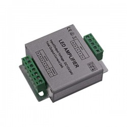 Amplifier For RGBW DC 6AX4 288W/12V 576W/24V - Eurolamp