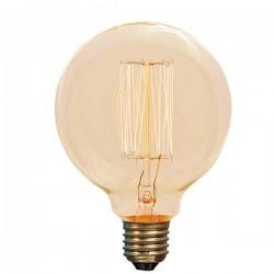 Διακοσμητική Λάμπα Νήματος EDISON Φ95 25W Ε27 220-240V Eurolamp