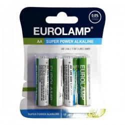 Μπαταρία Αλκαλική 1.5 V ΑΑ LR6 - Eurolamp