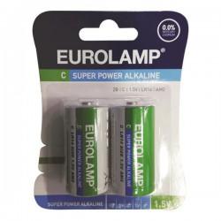 Μπαταρία Αλκαλική 1.5 V C LR14 - Eurolamp