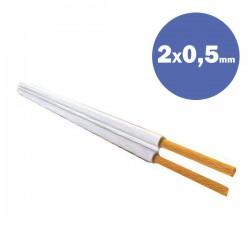 Καλώδιο NYFAZ H03VH-H 2X0,5 MM2 - Eurolamp