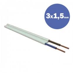 Καλώδιο Πλακέ NYΙIFY-R 3Χ1,5MM2 - Eurolamp
