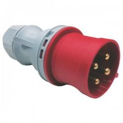 Φις Αρσενικό 4X32A 400V IP44 - Eurolamp