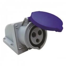 Πρίζα Επίτοιχη 3X32A 230V IP44 - Eurolamp