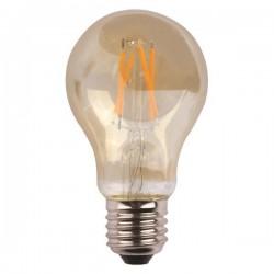 Λάμπα LED CROSSED FILAMENT 7W E27 2400K 220-240V GOLD GLASS DIMMABLE - Eurolamp