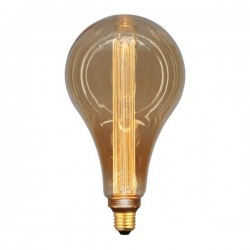 Λάμπα LED Αχλάδι P165 3,5W Ε27 2000K 220-240V GOLD GLASS DIMMABLE - Eurolamp