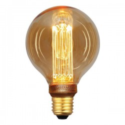 Λάμπα LED Γλόμπος G95 3,5W Ε27 2000K 220-240V GOLD GLASS DIMMABLE - Eurolamp