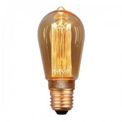 Λάμπα LED ST64 3.5W E27 2000K 220-240V GOLD DIMMABLE - Eurolamp