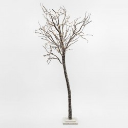 SNOWY LIGHTED TREE, 180 WARM WHITE LED, WITH TRANSFORMER, 180CM, IP20 Magic Christmas