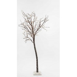 SNOWY LIGHTED TREE, 176 WARM WHITE LED, WITH TRANSFORMER, 250CM, IP20 Magic Christmas