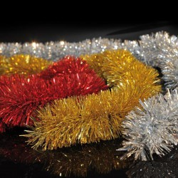 GOLD. SILVER OR RED BRAID, D8, 200CM - Magic Christmas