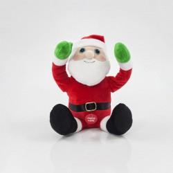 Άγιος Βασίλης PEEK - A - BOO, 13x13x20cm Magic Christmas