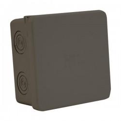 Gray Branch Box 80Χ80Χ40 IP65 (003.CS.N) Black- Marlanvil