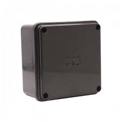Gray Branch Box 100Χ100Χ50  IP65 (005.PL.N) Black- Marlanvil
