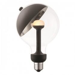 """LAMP LED """"MOVE ME"""" G120 E27 5,5W 2700K 220-240V BLACK/SILVER - Eurolamp"""