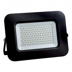 Προβολέας LED SMD Βάση 360° PLUS 100W Μαύρο IP65 PLUS - Eurolamp