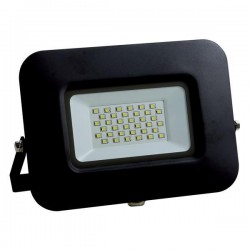 Προβολέας LED SMD Βάση 360° PLUS 30W Μαύρος IP65 PLUS - Eurolamp