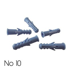 Expand Plug No 10 Blue - Eurolamp